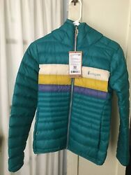 New Cotopaxi Womenand039s Fuego Hooded Down Jacket - Xs - Evergreen