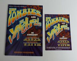 The Zombies And The Yardbirds In Concert 2008 Tour Programme + Flyer