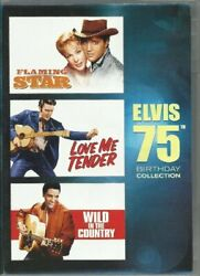 Elvis Presley 75th Birthday Collection Featuring Flaming St Dvd Used Very Good