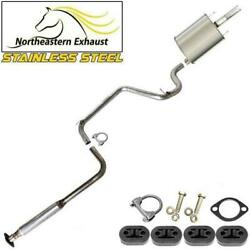 Stainless Steel Exhaust System With Bolts And Hangers Fit 1997-2002 Century 3.1l