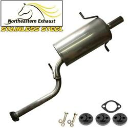 Stainless Steel Exhaust Muffler With Bolts And Hangers Fit 1998-2005 Forester