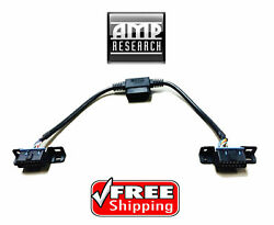 Amp Research 76404-01a Pass Through Harness For Powersteps Obdii Port Splitter