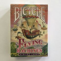 Flying Machines Bicycle Playing Cards - Poker Size 2016