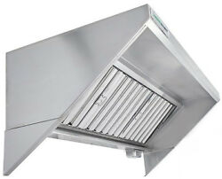 Hoodmart 9and039 X 30 Type 1 Commercial Kitchen Food Truck - Concession Trailer Hood