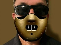 Hannibal movie style Face Mask black double sided