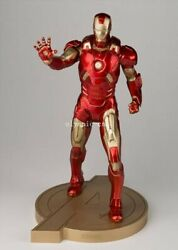 20'' Copper Limited Edition Genuine 14 Marvel Heroes Iron Man Warrior Statue