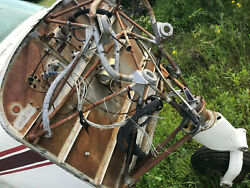 Beechcraft Musketeer Aircraft 1969 Nose Gear With Engine Mount Assembly Tx Usa