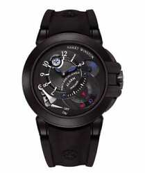 Harry Winston Project Z6 Black Dlc Alarm Day And Night 44mm Limited Ocemal44zz004