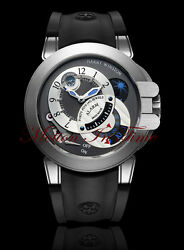 Harry Winston Project Z6 Alarm W/ Day And Night Anthracite 44mm Ocemal44zz001