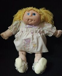 Vintage The Original Doll Baby /cabbage Patch Kid 1984 Martha Nelson Girl Doll