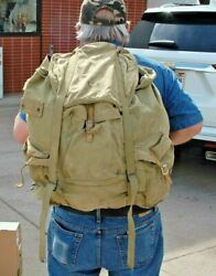 Original Wwii Us Army 1942 10th Mountain Division Rucksack With Frame, Backpack