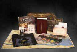 George R.r. Martin Game Of Thrones Ultra Limited Edition Grrm Box 143/200 Large