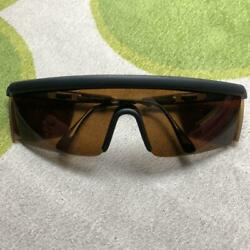 Vintage Polo Ralph Lauren RL−2000 Sunglasses Black Made in Italy Dead Stock M931