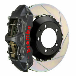 Brembo Gt-s Bbk For 03-07 G35 Coupe   Front 6pot Hard Anodized 1m2.8024as