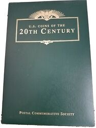 U.s. Coins Of The 20th Century Album By The Postal Commeratove Society