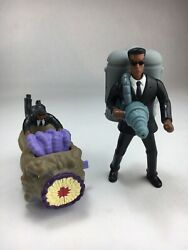 Burger King Men In Black Worm Rodeo J Wind Up Toy 2002 Lot Of 2 Toys Htf