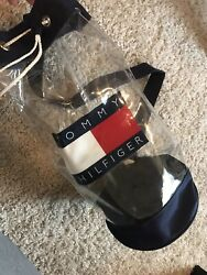 Clear Bag Tommy $120.00
