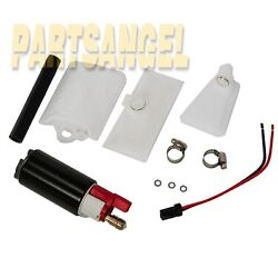 New In-tank Efi Offset Inlet Fuel Pump And Install Kit For Ford