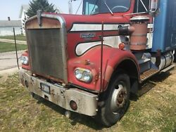 76-77 Kenworth Semi Tractor Hood Front End Front Clip