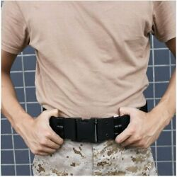 Heavy Duty Belt Tactical Combat Police Utility Belt Load Bearing With Buckle