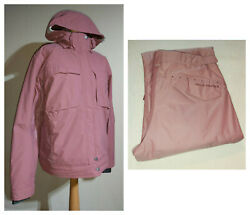 Helly Hansen Helly Tech 2 Piece Ski Jacket Suit Ladies Size LXL Pink RRP £500+