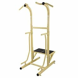 Outdoor Power Tower Workout Exercise Home Gym Training Strength Dip Station Pull