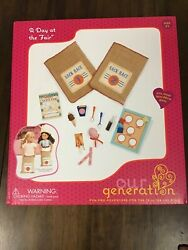 Our Generation State Fair Accessory Set A Day At The Fair 21 Piece For 18 Dolls