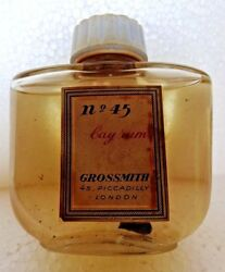 Vintage Bottle Of Bay Rum Cologne/aftershave Lotion England Collectible Rare 16