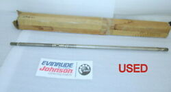 N33 Evinrude Johnson Omc 393075 Drive Shaft Long Oem Used Factory Boat Parts