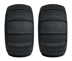 Pair Of Gmz Sand Stripper Xl Paddle Rear 4ply Atv Tires [30x15-14] 2
