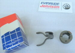 R74 Evinrude Johnson Omc 434765 Lever And Shifter Assy Oem New Factory Boat Parts