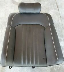 2017 2018 2019 Genesis G90 Rear Left Seat Assembly Upper Leather 89400d2eb0nni