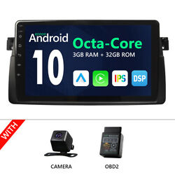 Cam+obd+7android 10 Best Car Stereo Apple Car Play Radio Dvd Gps For Bmw E46 M3