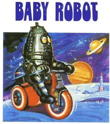 Science Fiction Sci-fi Baby Robot On Tricycle Tta0316 Collectible Nib N07