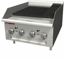Southbend Hdc-36 36 Heavy Duty Gas Charbroiler W/ Cast Iron Radiants