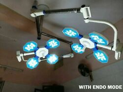 New 4+4 Led Ot Lights Surgical Operating Light Ceiling Examination Light Double
