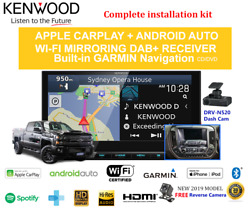 Kenwood Dnx9190dabs For Chevrolet Silverado 2015-2018 - Stereo Upgrade