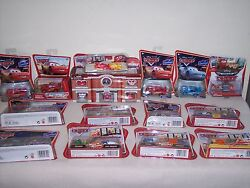 Disney Cars - Lot Of Over 50 - 1/55 Scale And Mini Cars - Chase Car Too - L@@k