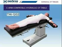 Ot Surgical Table Hydraulic Operating Table C-arm Compatible Operation Theater @
