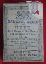 Antique Playing Cards Banks Bros Late Hunt Sealed Mint Rare 002