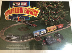 Lionel Keebler Elfin Express 1999 Complete New Sealed In Box Ready To Run Train
