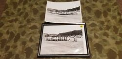 2 Vietnam War Picture Army Soldiers Marching Parade Pass And Review M1 4 Rifles