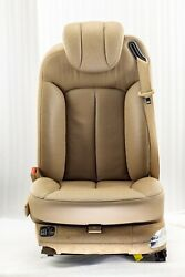 Maybach 57s 62s V240 W240 Front Left Seat Leather 534a Havanna Beige Exclusive