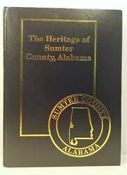 The Heritage of Sumter County Alabama Hard Back Book