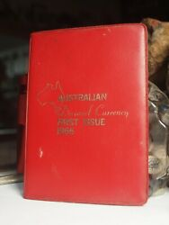 Australia Decimal Currency First Issue 1996 In Red Wallet - Au Stock