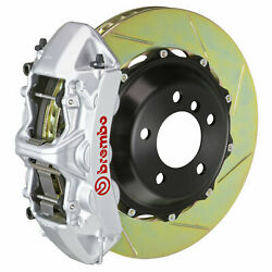 Brembo Gt Bbk For 08-17 S5 B8 | Front 6pot Silver 1m2.9021a3