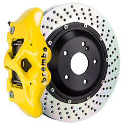 Brembo Bbk For 15-18 M4 Excl. Carbon-ceramic F82   Rear 4pot Yellow 2s1.9013a5