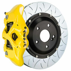Brembo Gt Bbk For 15-19 M4 Carbon-ceramic F82   Rear 4pot Yellow 2s3.9014a5