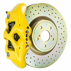 Brembo Bbk For 15-19 Wrx Excl. Models W/ Electronic Front 4pot Yellow 1s4.6002a5