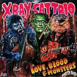X RAY CAT TRIO Love Blood amp; Monsters Vinyl limited LP GBP 21.05